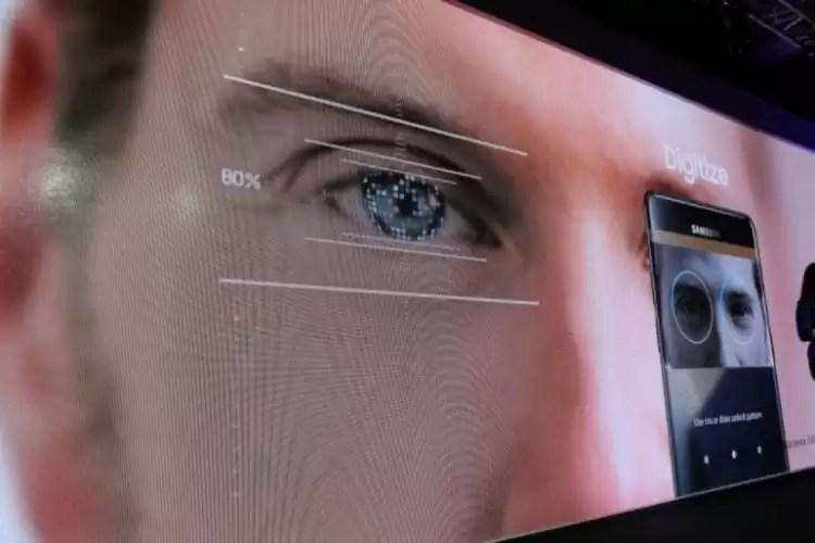 Galaxy S9 apresentará um Scanner de iris muito superior ao modelo anterior 2