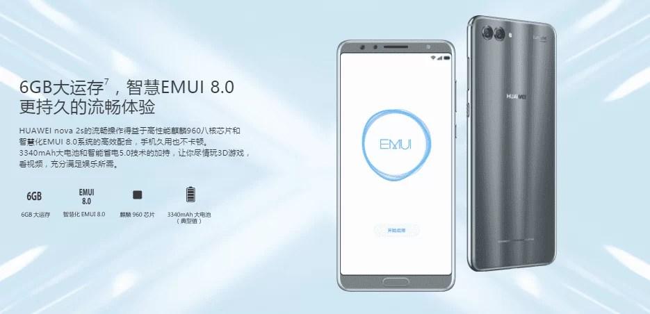 Huawei Nova 2S já é oficial com 4 câmaras 3
