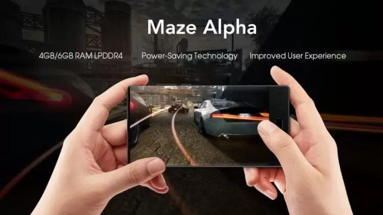 MAZE Alpha X 4G Smartphone de 6 polegadas 6 GB RAM ROM de 64 GB em promoção 2