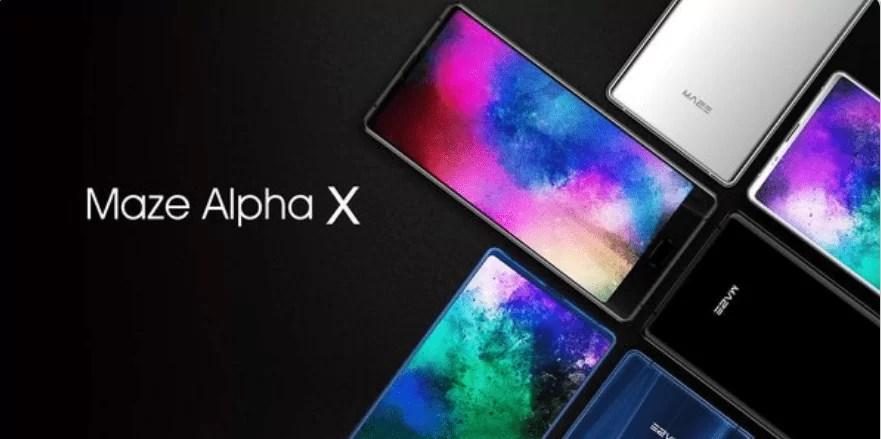 MAZE Alpha X 4G Smartphone de 6 polegadas 6 GB RAM ROM de 64 GB em promoção 1