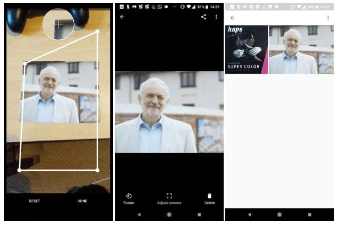 Nova atualização do Google PhotoScan traz a capacidade de guardar imagens automaticamente 1