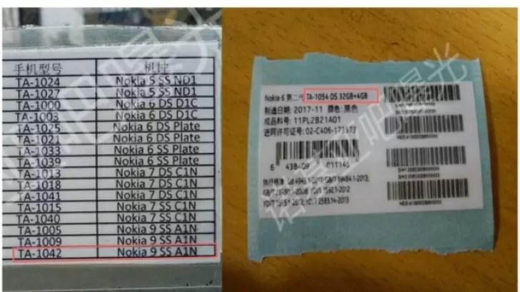 Nokia 9 e Nokia 6 (2018) obtêm certificações 3C, podem ser lançados em janeiro 2