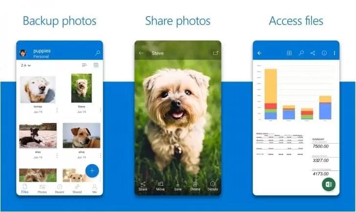 OneDrive para Android recebe um novo visual e está grátis na Google Play Store 1