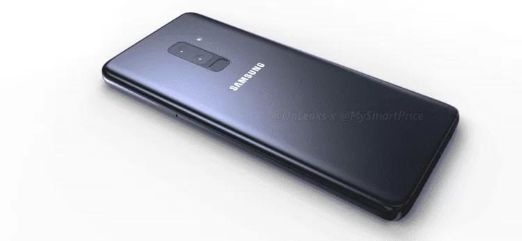 Samsung Galaxy S9, S9 + videos e imagens renderizada mostram aquilo que queríamos ver 1