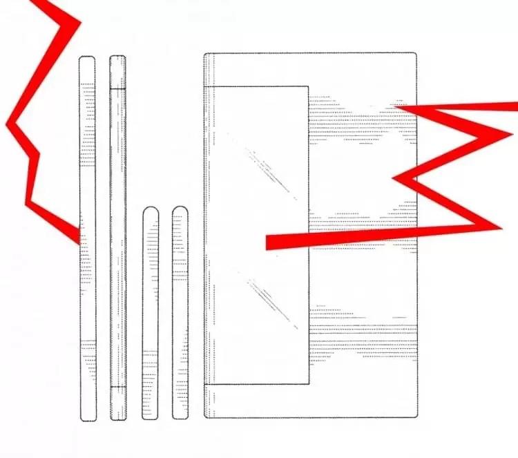Samsung regista patente para ecrã envolvente para um próximo smartphone 2