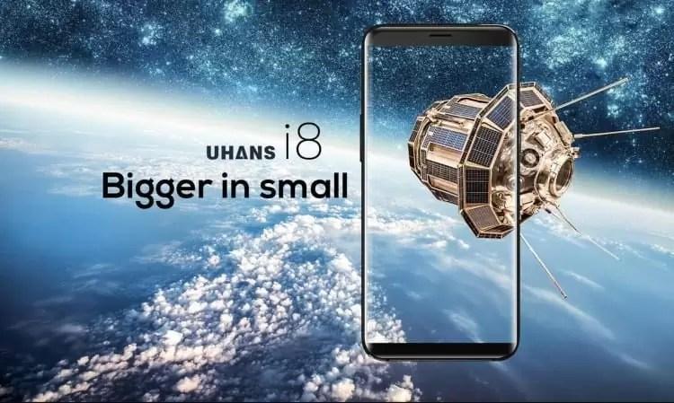 UHANS i8 é um clone do S8 com 4GB de RAM e ecrã FULLVIEW por 1/8 do preço 4