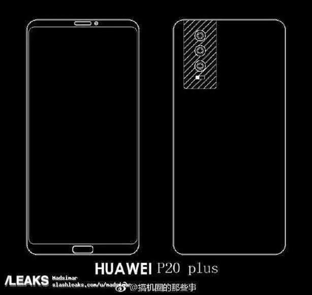 Exclusivo: Huawei P20 não terá headphone Jack e vem com USB-C em todas as variantes 2