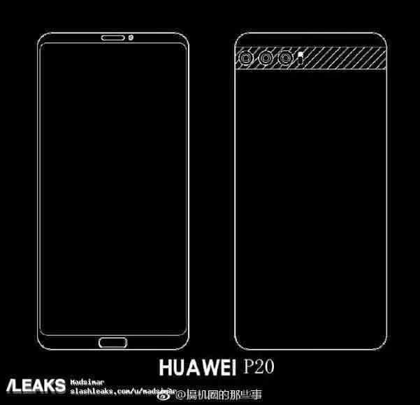 Exclusivo: Huawei P20 não terá headphone Jack e vem com USB-C em todas as variantes 1
