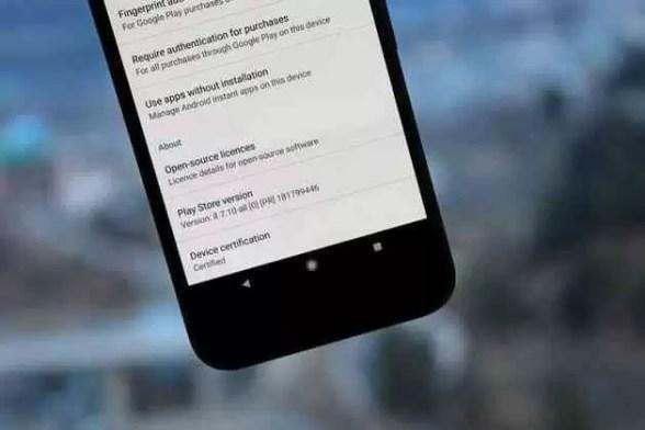 Google Play Store chega à versão 8.7.10 [APK Download] 1