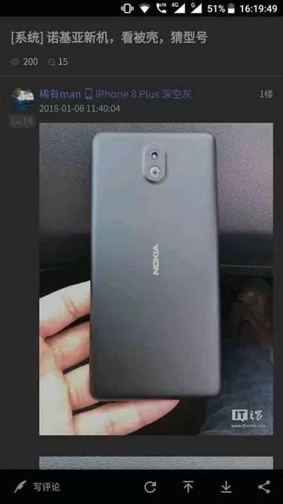 Nokia 1 surge em imagens reais image