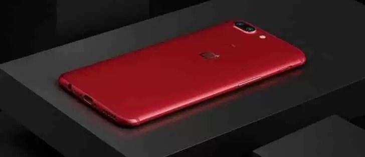 OnePlus 5T Lava Red esgotado na segunda venda flash 1