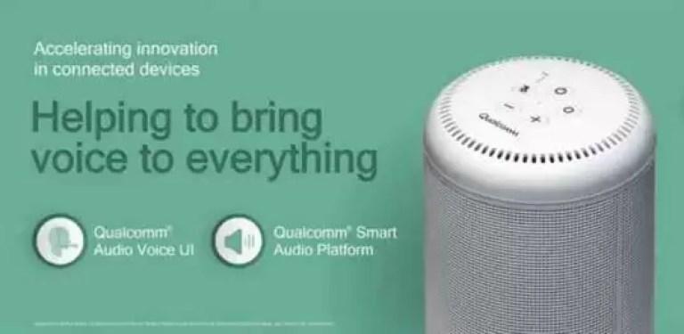 Plataforma de Áudio Inteligente da Qualcomm vai ajudar OEMs a fazer colunas inteligentes com Alexa e Assistente do Google 1