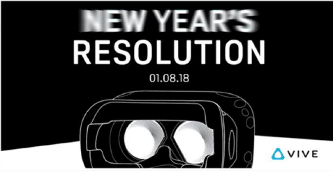 Tweet da HTC mostra o novo modelo Vive a ser revelado esta segunda-feira na CES 1