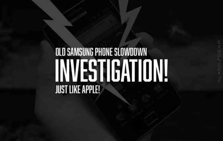 Ùltima Hora: Samsung Investigada por alegadamente (também) prejudicar desempenho de equipamentos antigos 1