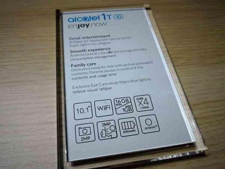 Alcatel apresenta o tablet Alcatel 1T 1