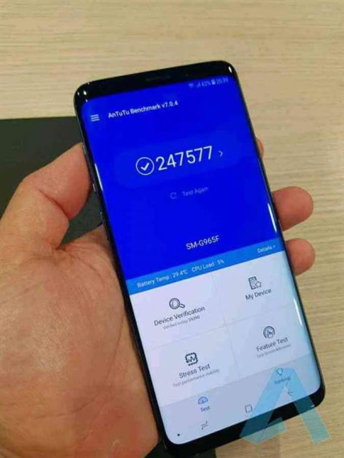 Primeiros benchmarks Samsung Galaxy S9 (Exynos 9810) 1