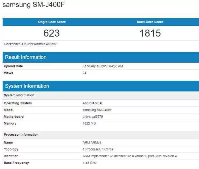 Samsung Galaxy J4 ainda não é oficial , mas já há firmware disponível 1