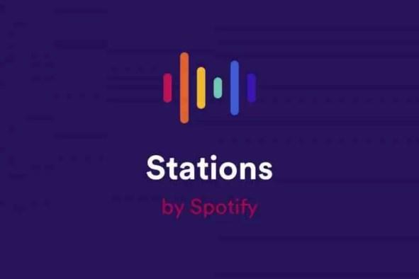 stations - spotify