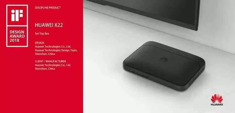 Huawei distinguida com seis Prémios iF Design 2018 4