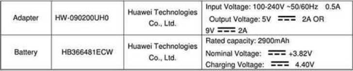 Huawei P20 Lite com ecrã entalhado 19: 9 passa pela FCC 2