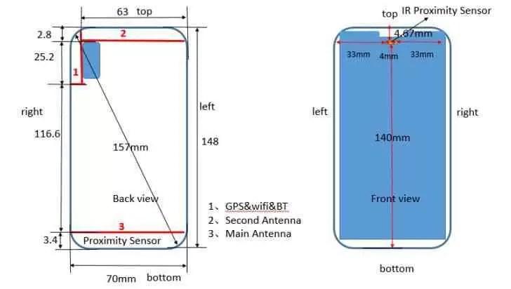 Huawei P20 Lite com ecrã entalhado 19: 9 passa pela FCC 1