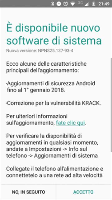 Moto G5 Plus com novo update de firmware image