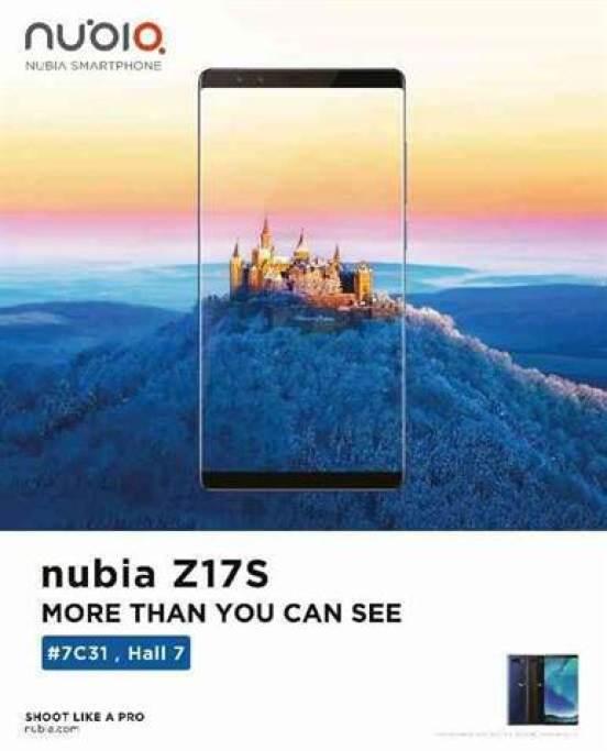 Nubia confirma que vai mostrar novas tecnologias e smartphones na MWC 2018 1