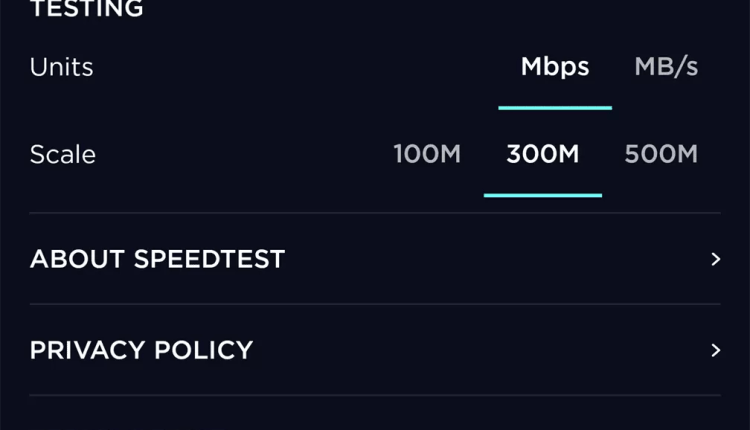 Speedtest chega à versão 4.0 com novo design [APK Download] 5