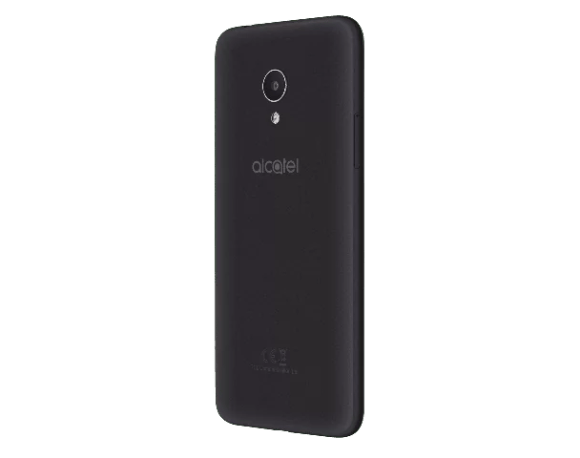 Alcatel 1X-Dark Gray (Suede)-Back Right(without FP)-preview