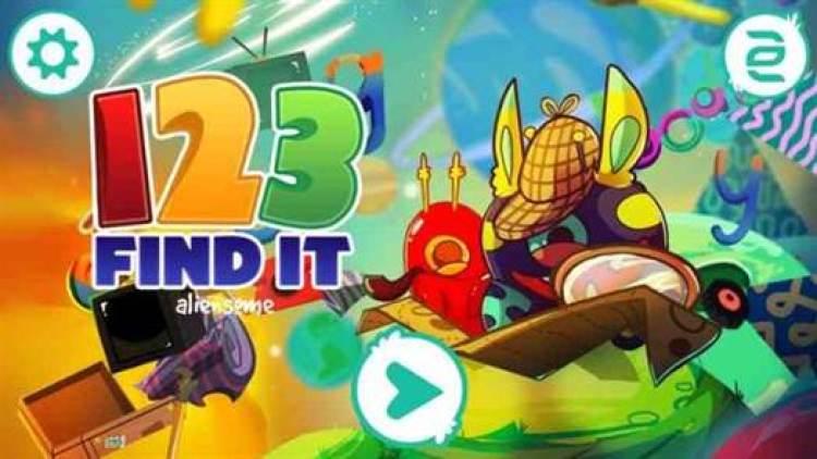 Aliensome: 1 2 3 Find It! antes era £0.89 e agora está grátis no Google Play 1