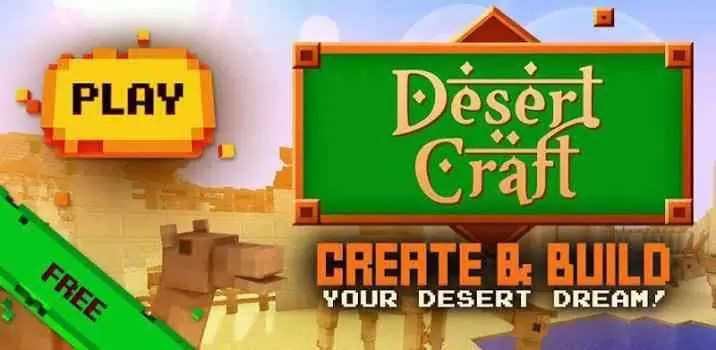Desert Craft Exploration da Upland Craft Games acaba de chegar ao Google Play 1