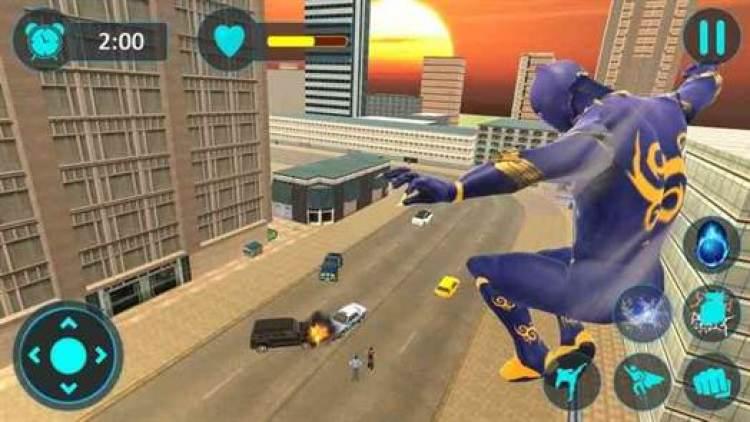 Flying Superhero Newyork City Battleground Fight da Games Trigger acaba de chegar ao Google Play 1