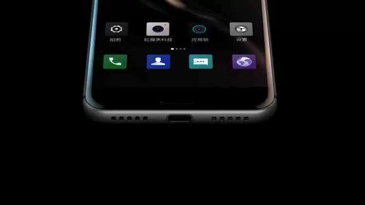 GOME K1 é um Smartphone ilustre e desconhecido com Sensor de Iris e muito mais 3