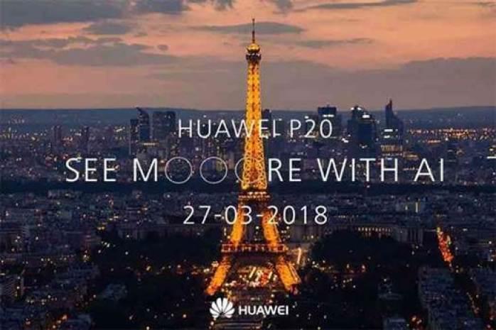 Já sabe os preços europeus dos smartphones da série P20 da Huawei? 1