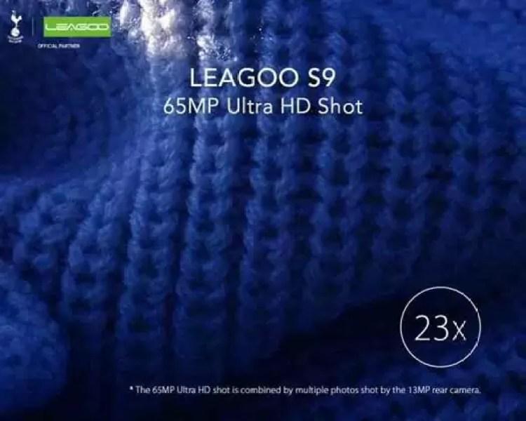 Leagoo S9 permite aumentar as fotos até 23 vezes com 65 Mega Pixels Ultra HD Shot ! 2