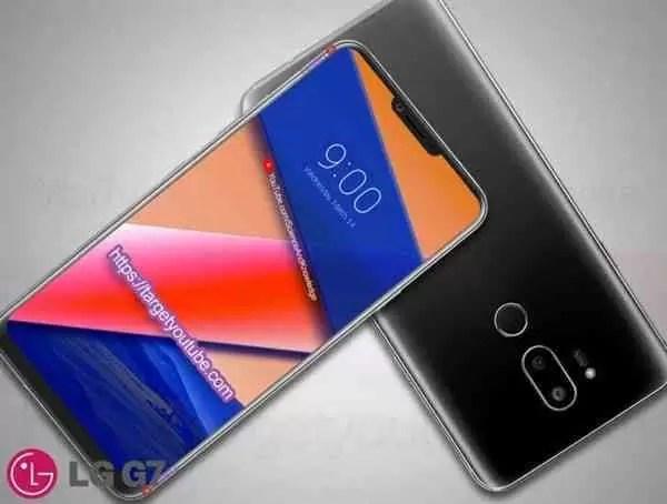 LG G7 Mostra-se em conceito com base em fugas de informação 4