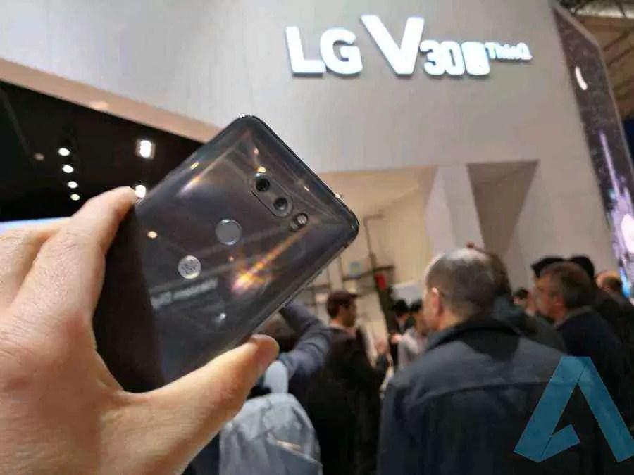 LG V30 vs LG V30S ThinQ comparação de câmaras 2