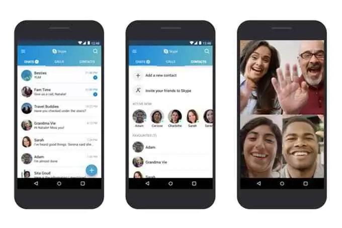 Microsoft optimiza o Skype para funcionar em dispositivos Android antigos 1