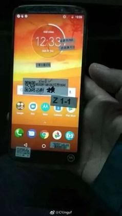 Moto E5 Plus revelado em imagens reais e possíveis especificações 3