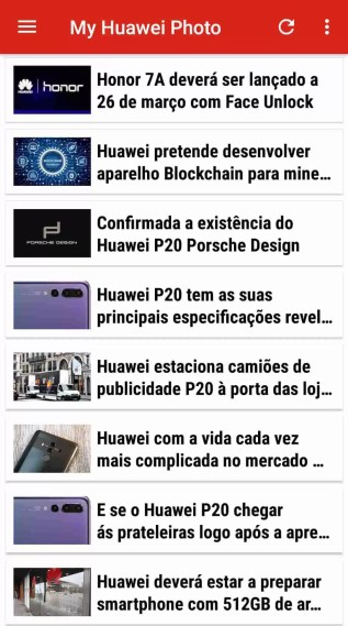 My Huawei Photo no TOP 5 de apps em Portugal 1