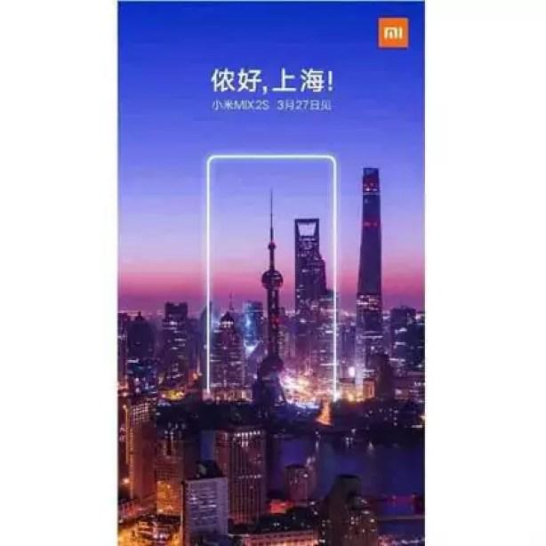 Novo teaser da Xiaomi sobre o Mi Mix 2S sugere margens muito reduzidas 1