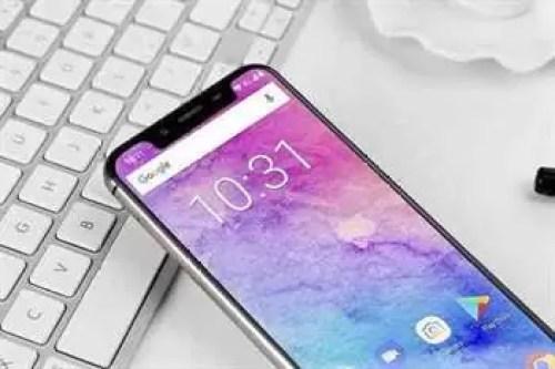 O clone do iPhone X OUKITEL U18 é lançado em versão GOLD com, 4GB RAM e 64GB ROM 1