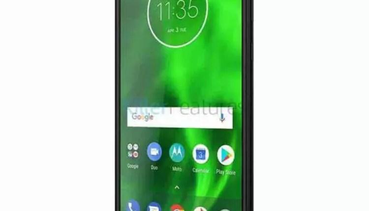 Olá, eu sou o Motorola Moto G6 5