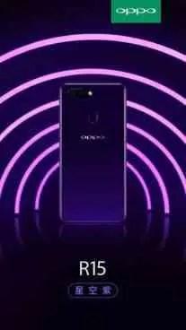 Oppo R15 vai ser oficial a 31 Março com Câmara de 16MP Sony IMX519 1