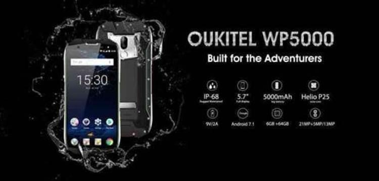 OUKITEL WP5000 com certificação IP68 é impressionante 1
