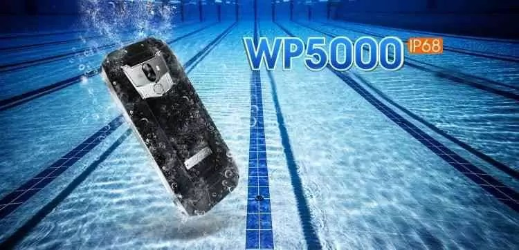 OUKITEL WP5000 com certificação IP68 é impressionante 2