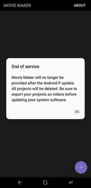 Samsung Movie Maker já tem data para a sua descontinuação 1