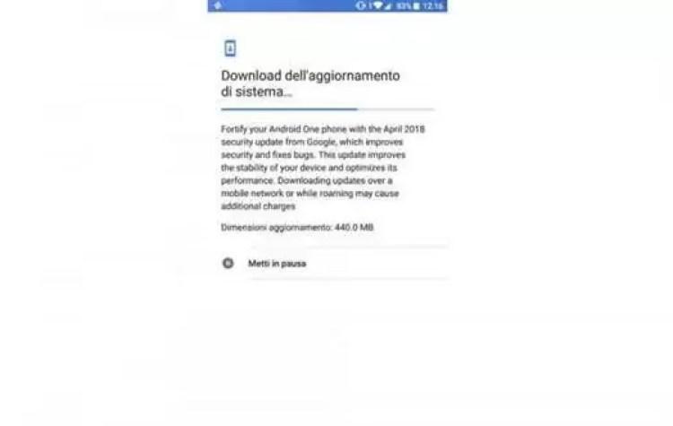 Xiaomi Mi A1 começa a receber o patch de segurança Android do mês de... abril 1