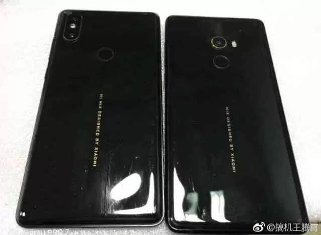 Xiaomi Mi Mix 2s espião revela a posição da câmara dupla - na esquina 1