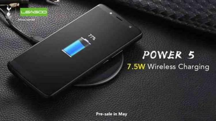 LEAGOO Power 5 com 7000mAh terá 7.5W Wireless Charge ! 1